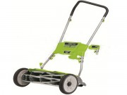 "Earthwise (18"") Quiet Cut 5-Blade Push Reel Mower"