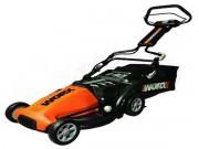 "Worx (19"") 36-Volt Cordless Electric Lawn Mower w/ Intellicut"