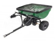 Precision Products 100 LB Pro Series Tow Behind Broadcast Spreader With Rain Cover