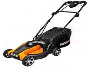 "Worx (14"") 24-Volt Cordless Electric Lawn Mower"