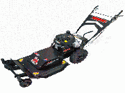 "Swisher Predator (24"") 11.5 HP Walk Behind Rough Cut Mower with Casters"